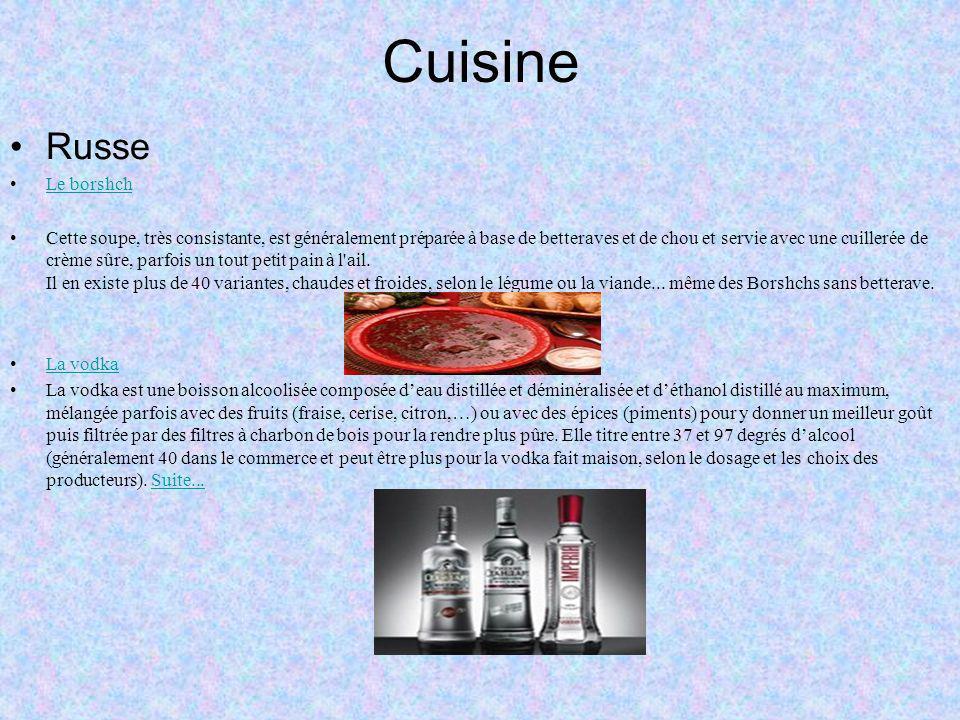 Cuisine Russe Le borshch