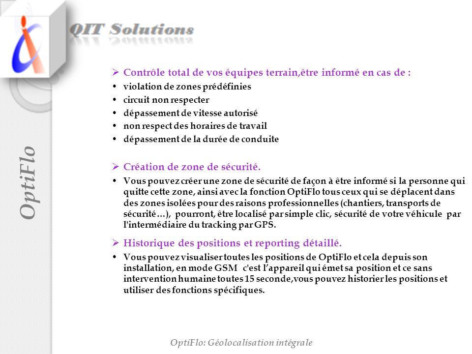 OptiFlo: Géolocalisation intégrale