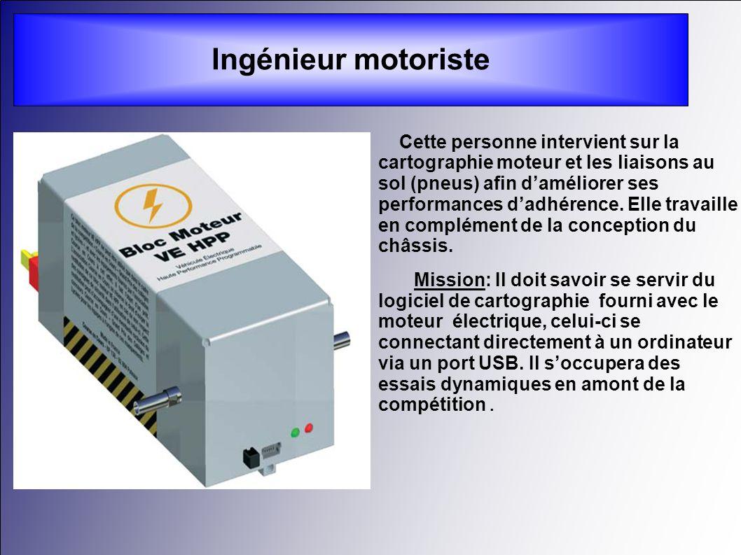 Ingénieur motoriste