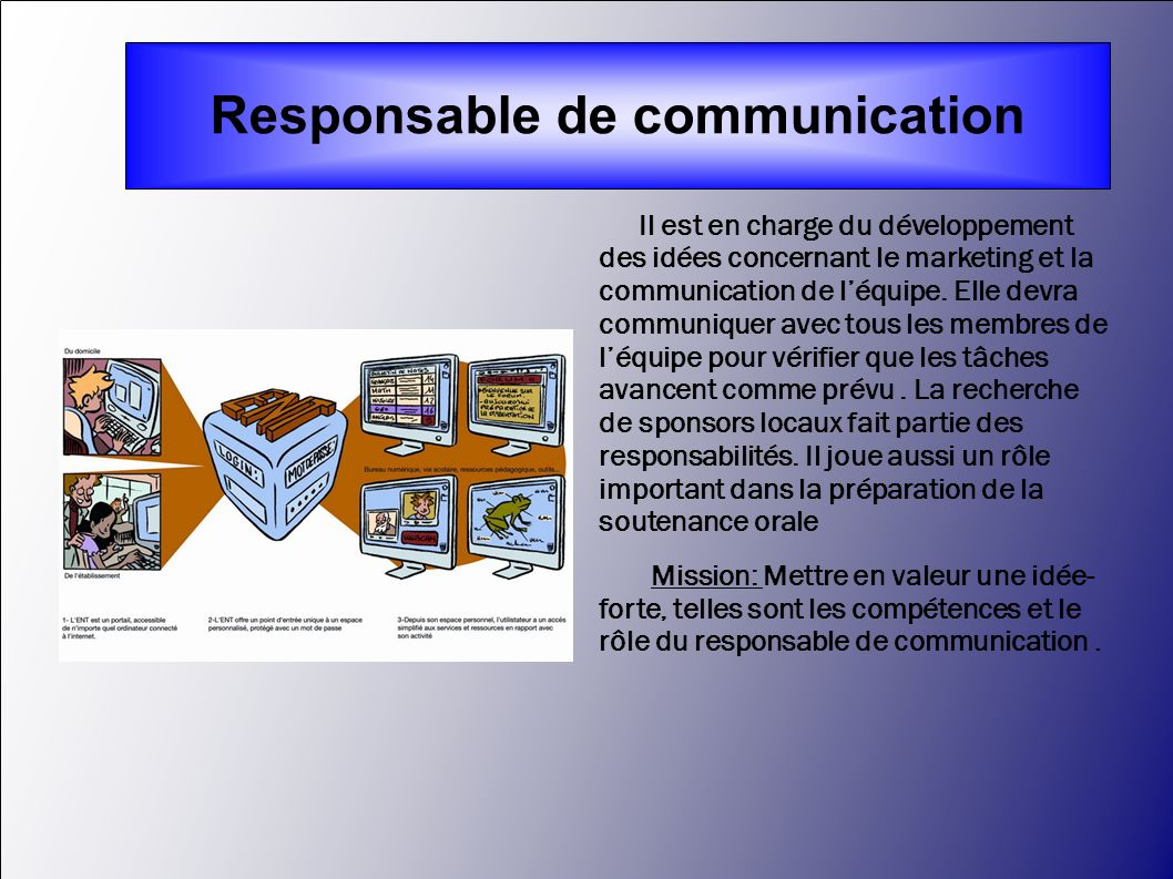 Responsable de communication