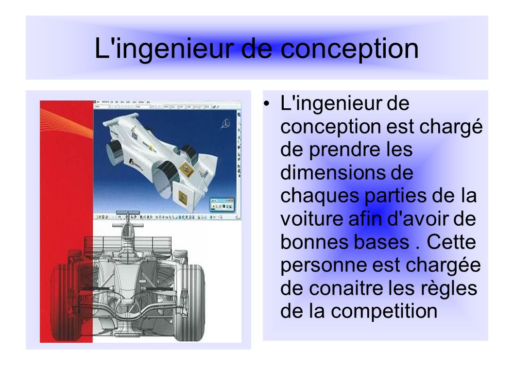 L ingenieur de conception