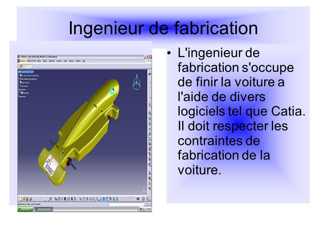 Ingenieur de fabrication
