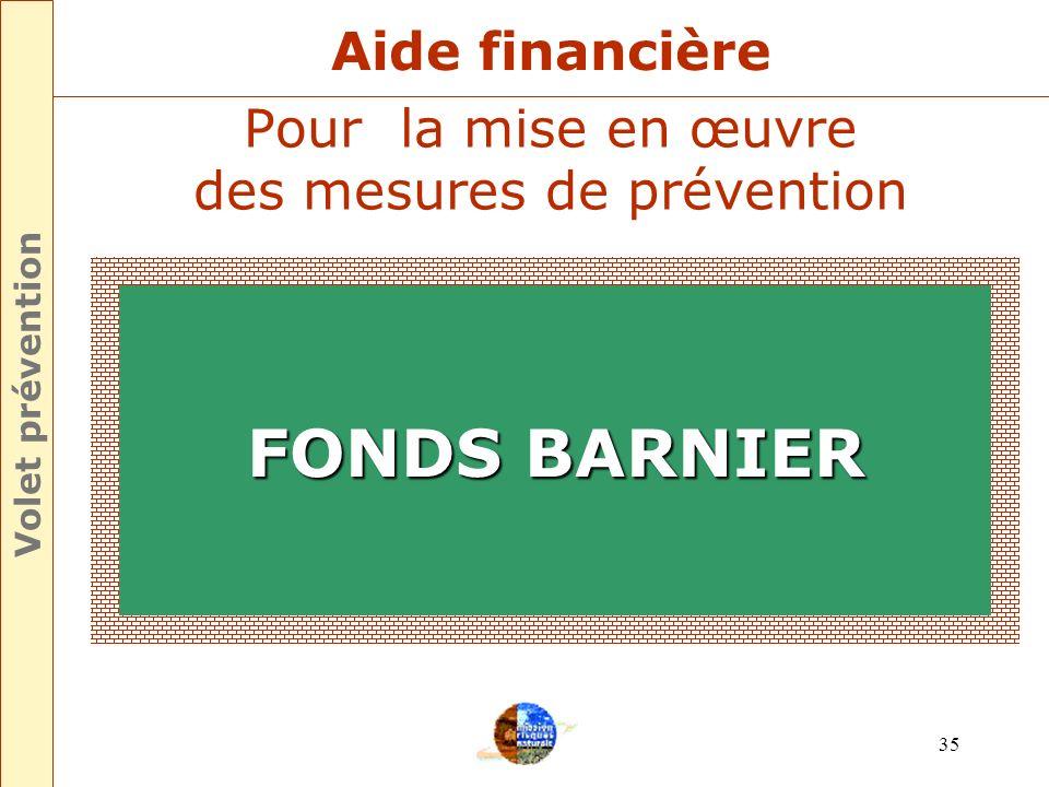 Pour la mise en œuvre des mesures de prévention