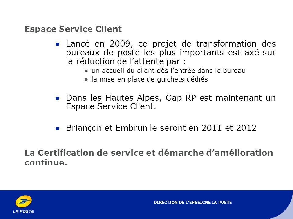 Dans les Hautes Alpes, Gap RP est maintenant un Espace Service Client.