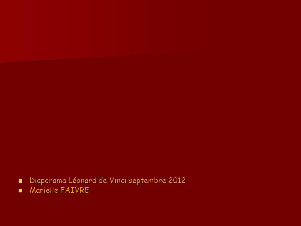 Diaporama Léonard de Vinci septembre 2012