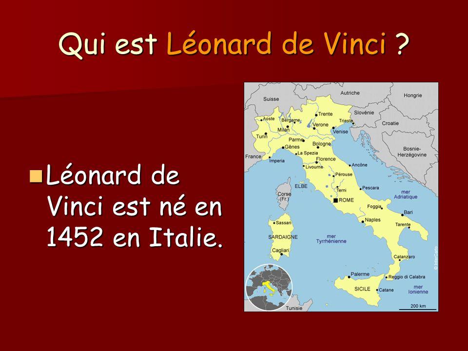 Qui est Léonard de Vinci