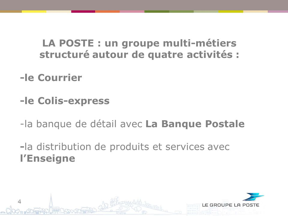 -la banque de détail avec La Banque Postale