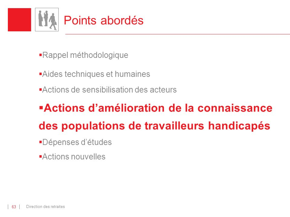 Points abordés Rappel méthodologique. Aides techniques et humaines. Actions de sensibilisation des acteurs.