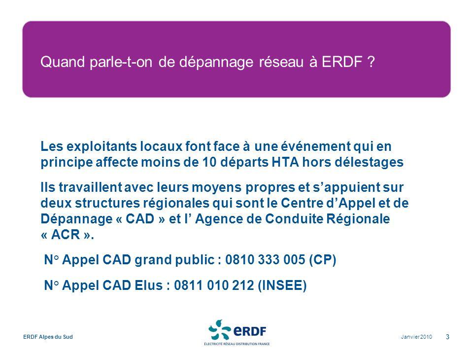 Quand parle-t-on de dépannage réseau à ERDF