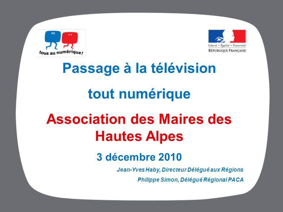 Passage à la télévision Association des Maires des Hautes Alpes