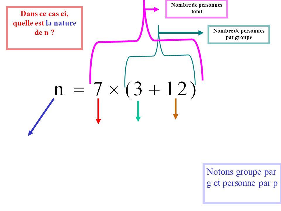 Notons groupe par g et personne par p