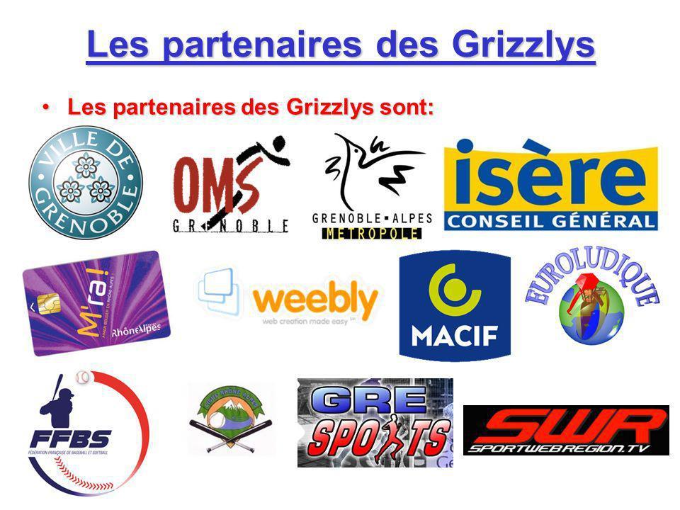 Les partenaires des Grizzlys