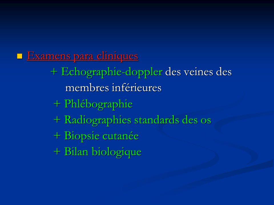Examens para cliniques