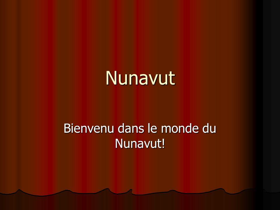 Bienvenu dans le monde du Nunavut!