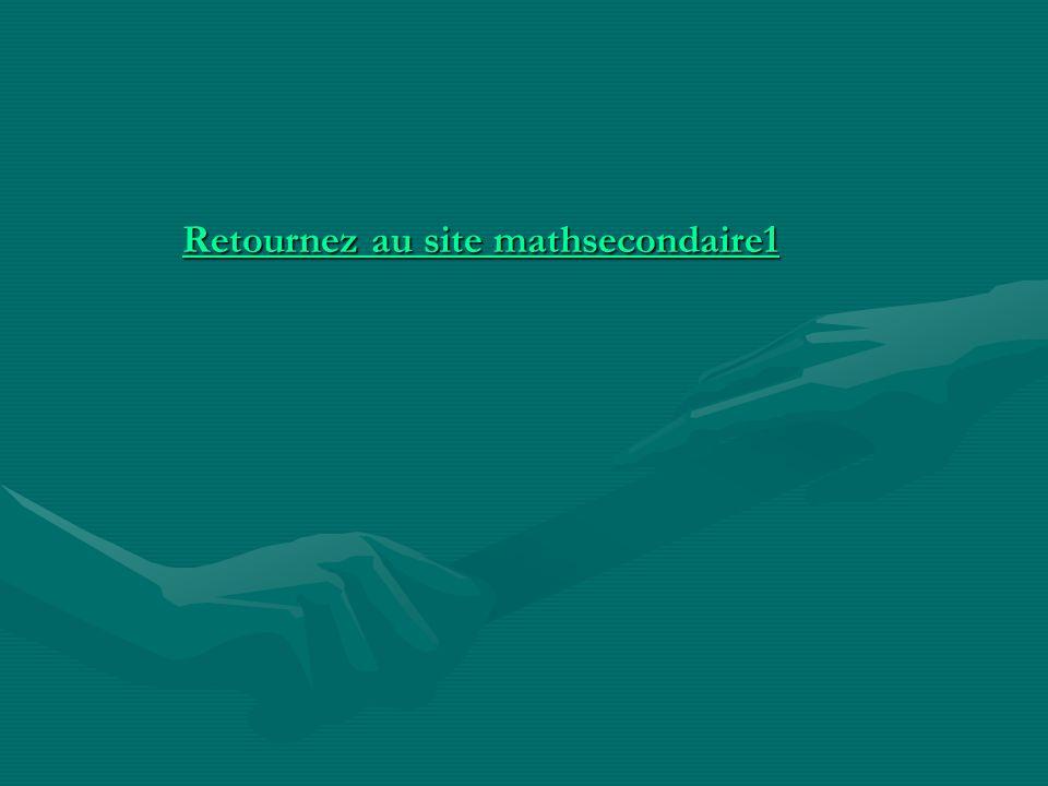 Retournez au site mathsecondaire1