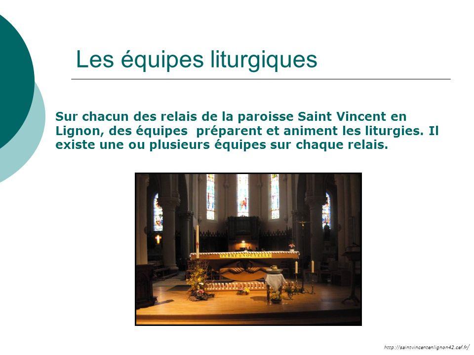 Les équipes liturgiques