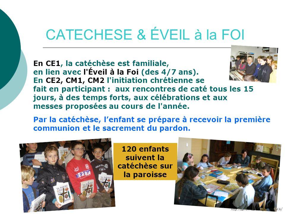 CATECHESE & ÉVEIL à la FOI