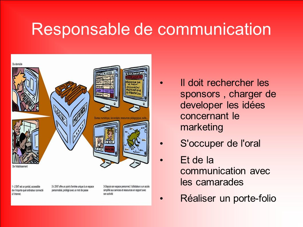 Responsable de communication