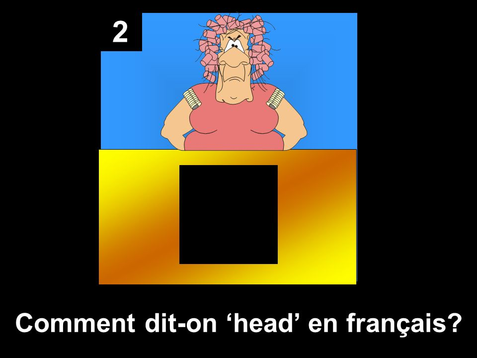 Comment dit-on 'head' en français