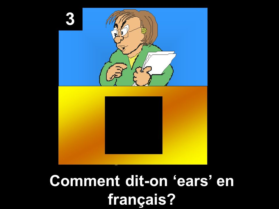 Comment dit-on 'ears' en français