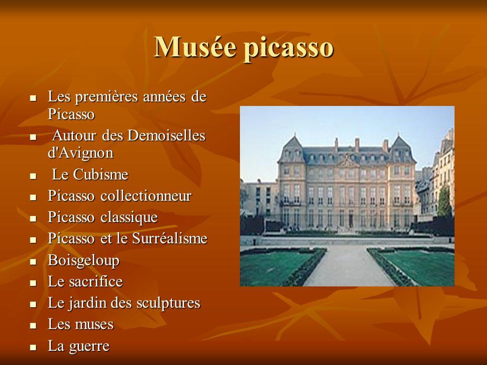 Musée picasso Les premières années de Picasso