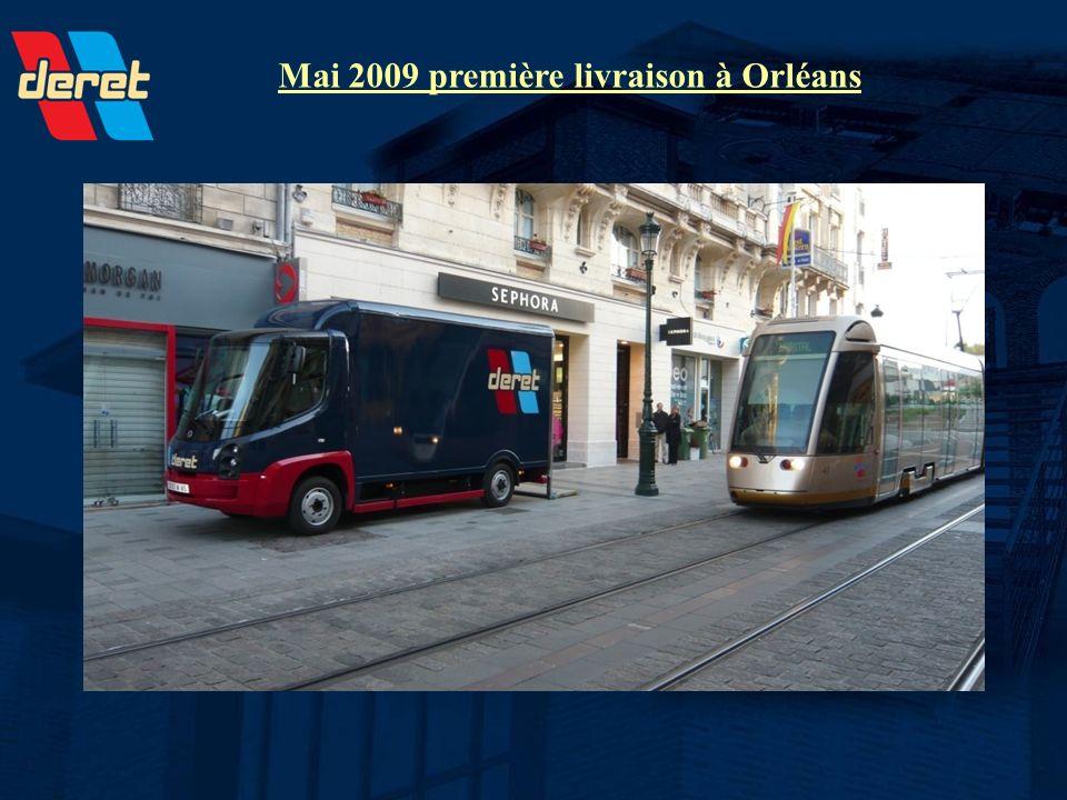 Mai 2009 première livraison à Orléans