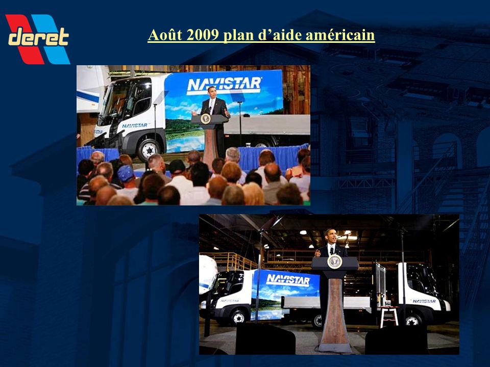 Août 2009 plan d'aide américain