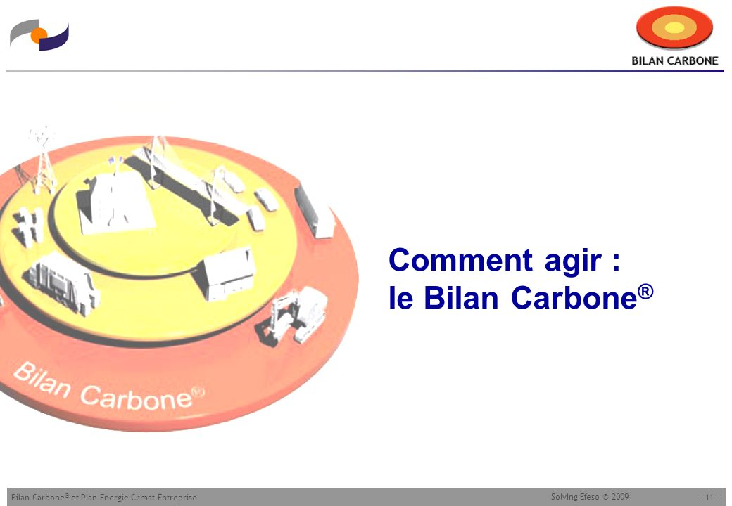 Comment agir : le Bilan Carbone®