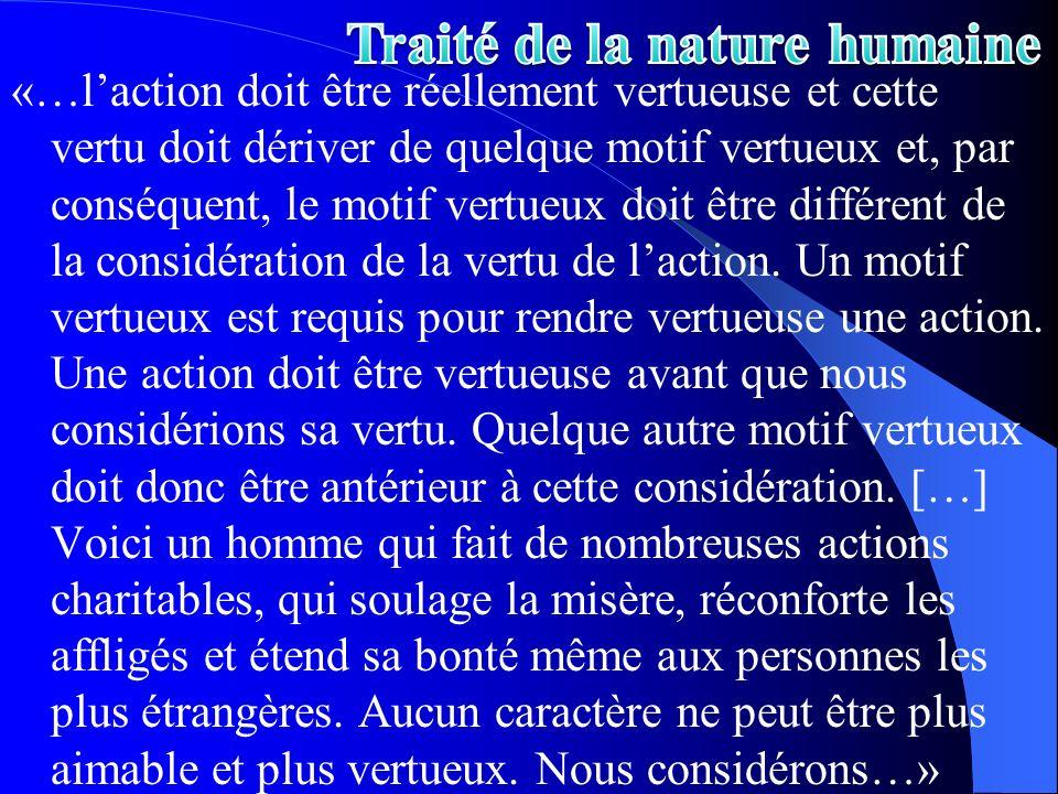 Traité de la nature humaine