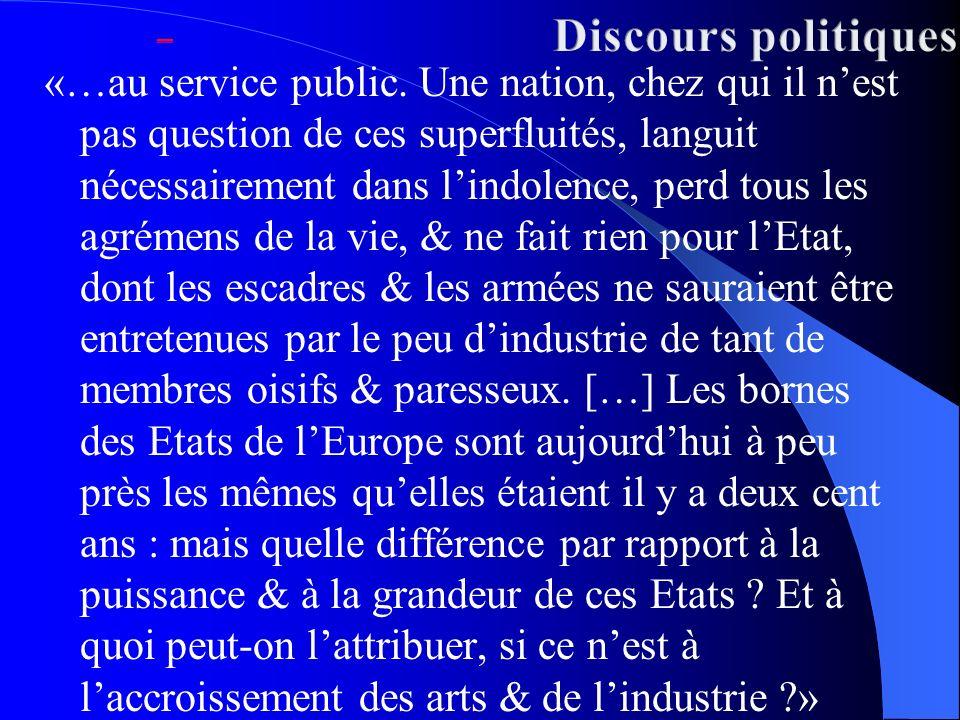 _ Discours politiques.