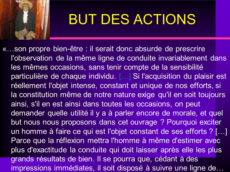 BUT DES ACTIONS