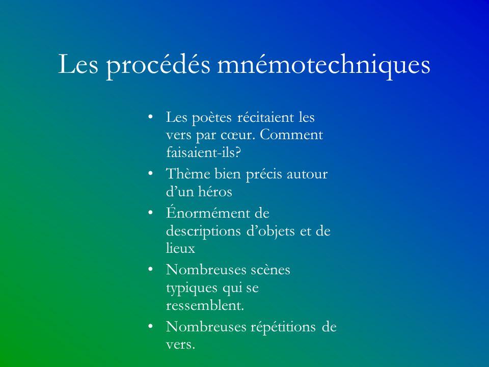 Les procédés mnémotechniques