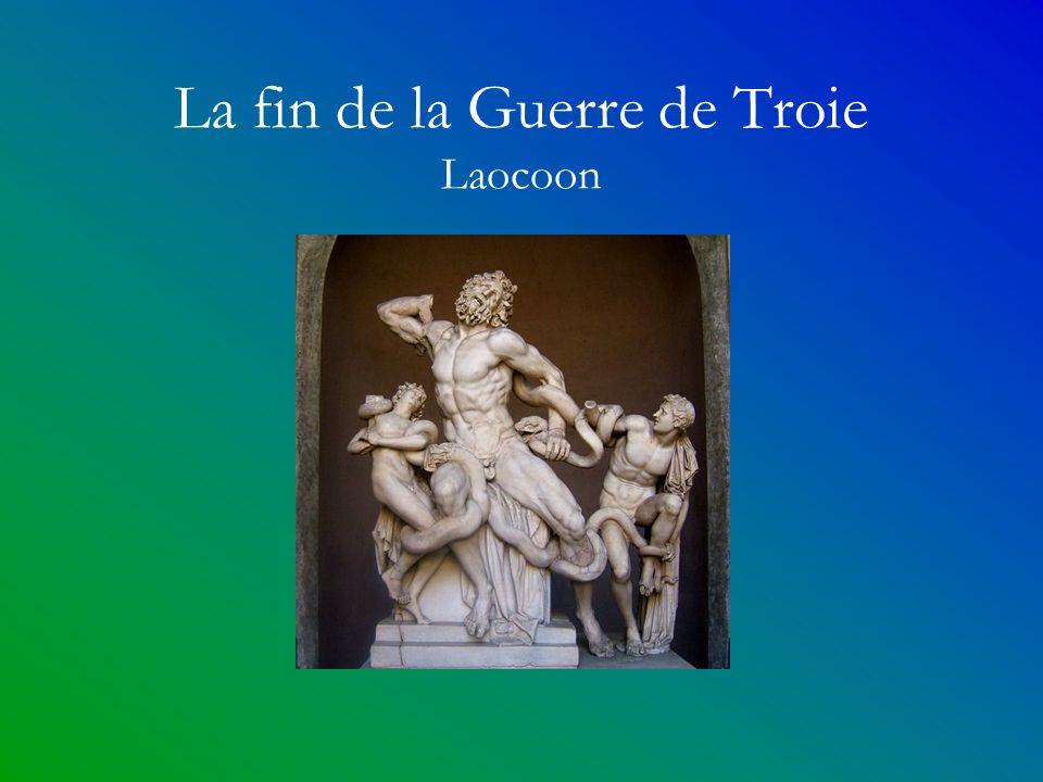 La fin de la Guerre de Troie Laocoon