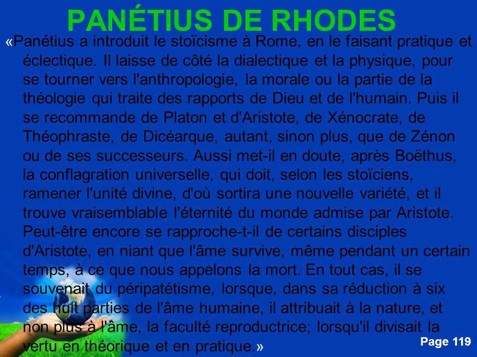 PANÉTIUS DE RHODES