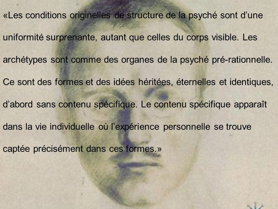 «Les conditions originelles de structure de la psyché sont d'une uniformité surprenante, autant que celles du corps visible.
