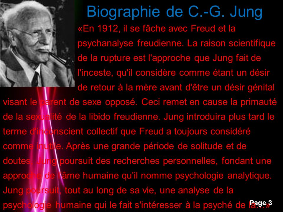 Biographie de C.-G. Jung
