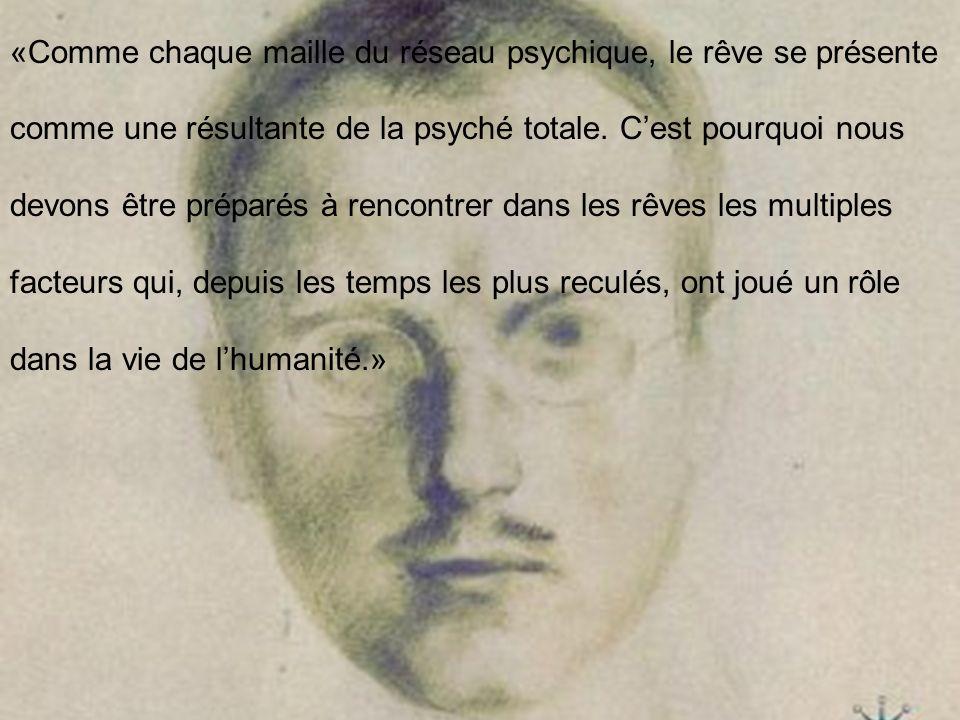 «Comme chaque maille du réseau psychique, le rêve se présente comme une résultante de la psyché totale.