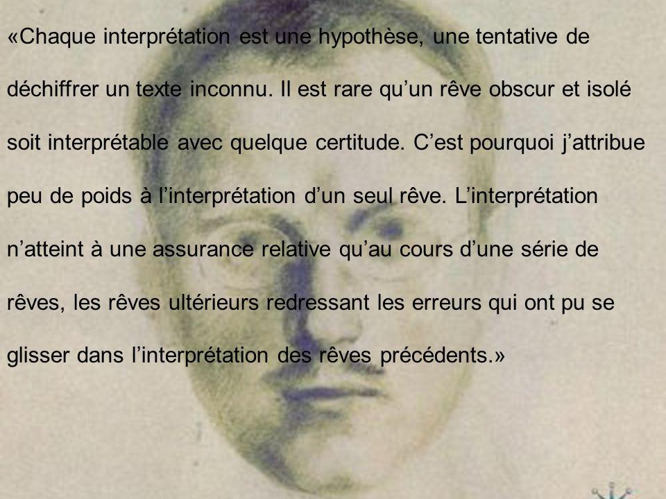 «Chaque interprétation est une hypothèse, une tentative de déchiffrer un texte inconnu.