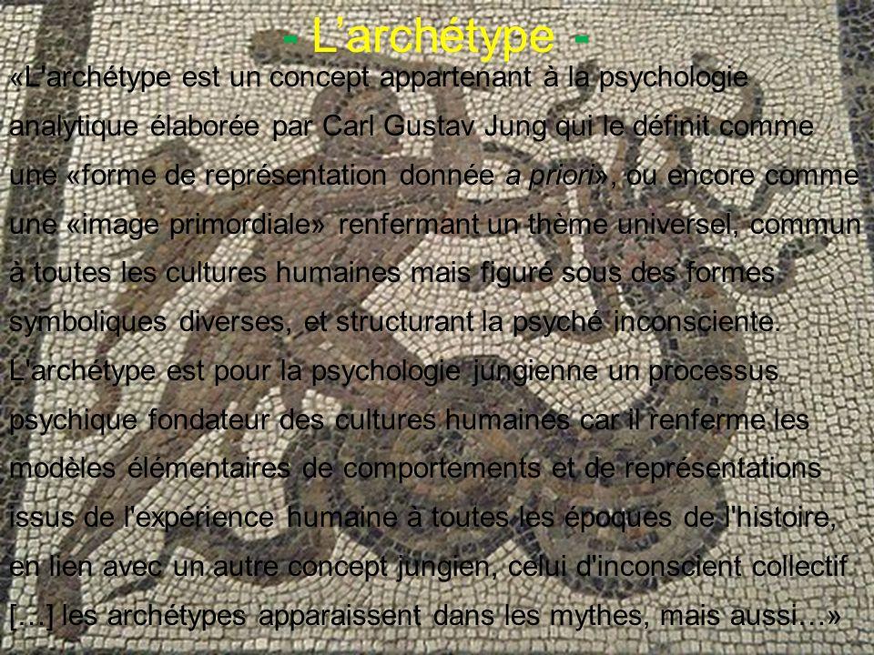 - L'archétype -