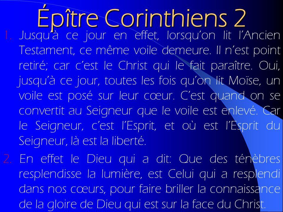 Épître Corinthiens 2