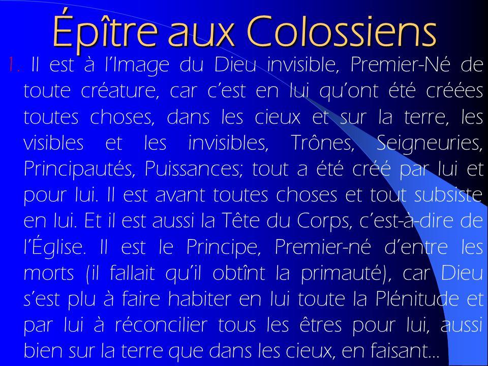 Épître aux Colossiens