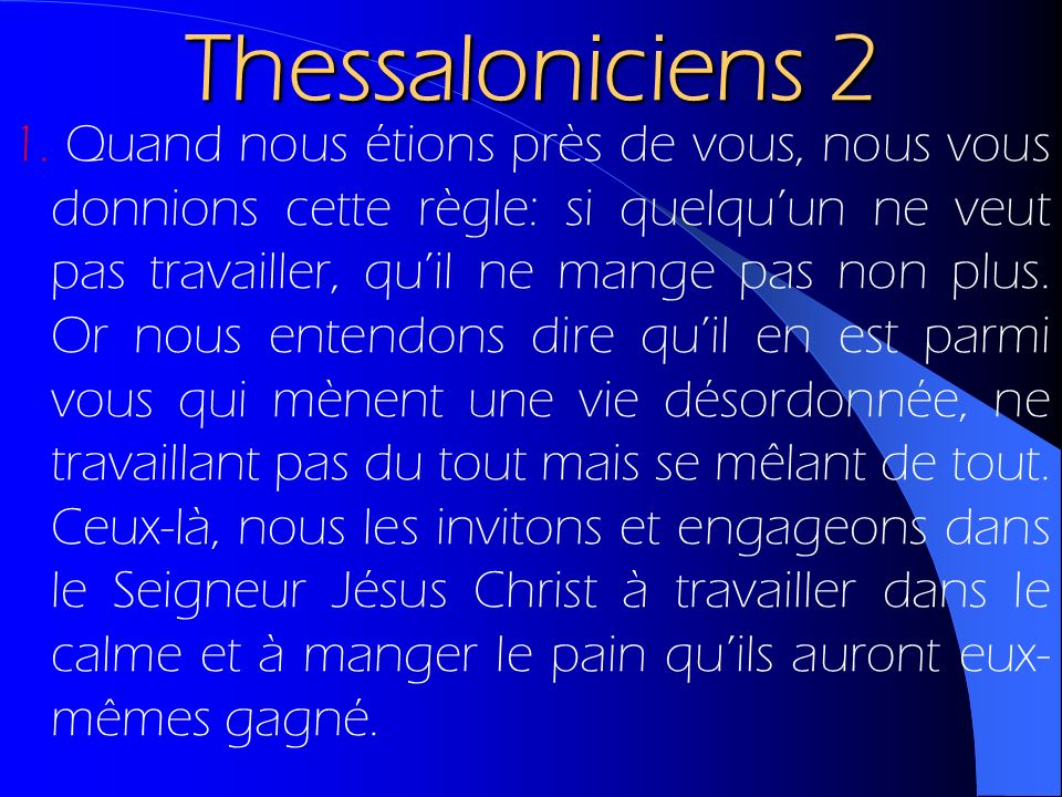 Thessaloniciens 2