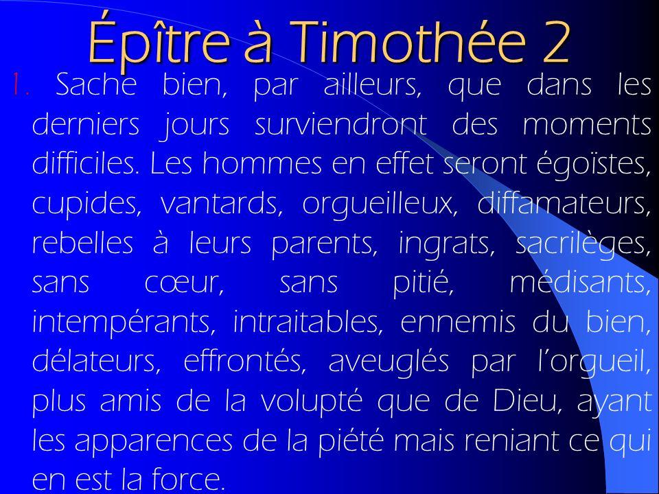Épître à Timothée 2