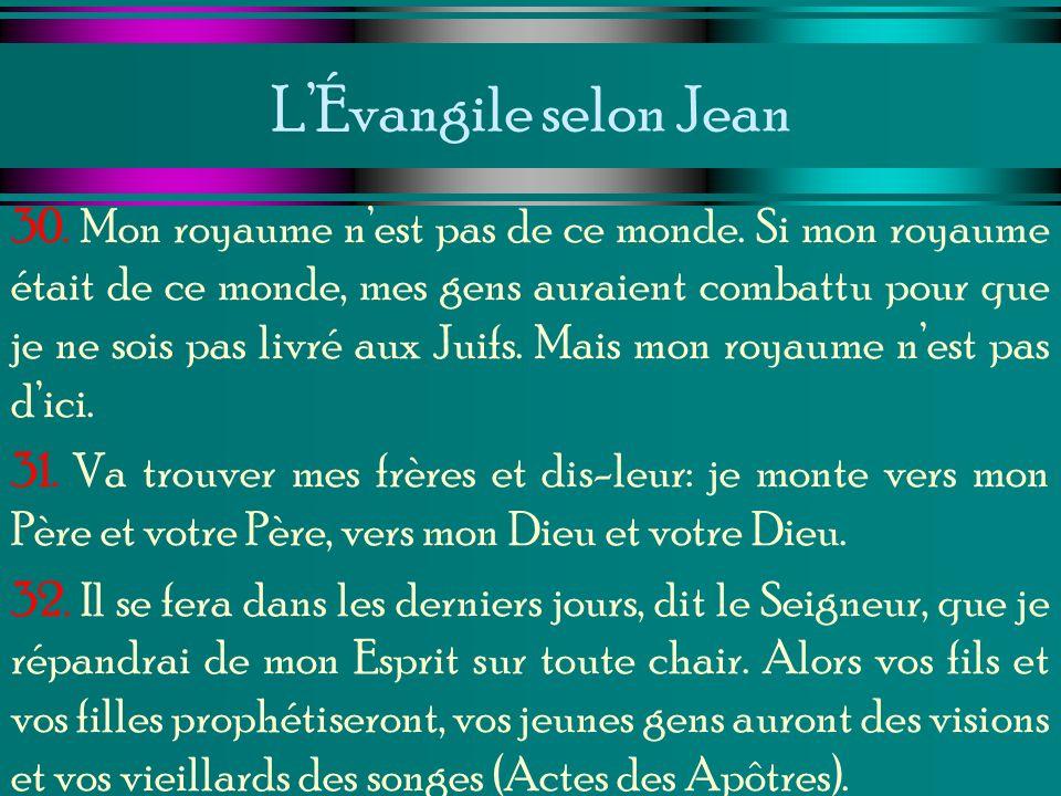 L'Évangile selon Jean