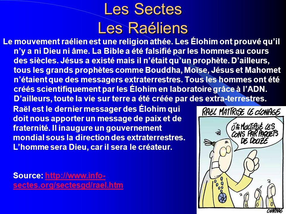 Les Sectes Les Raéliens