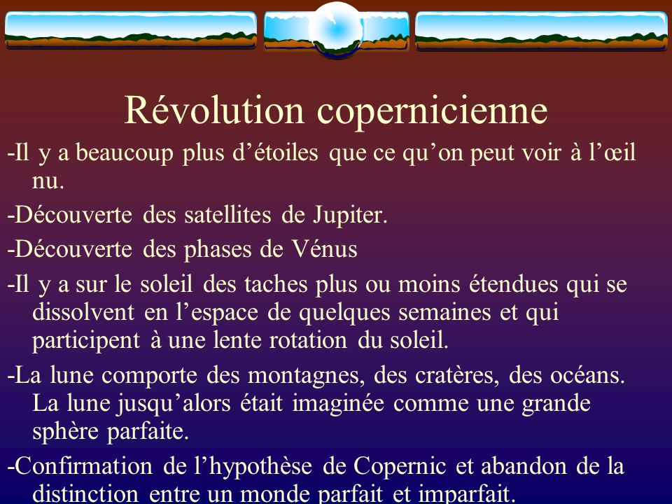 Révolution copernicienne