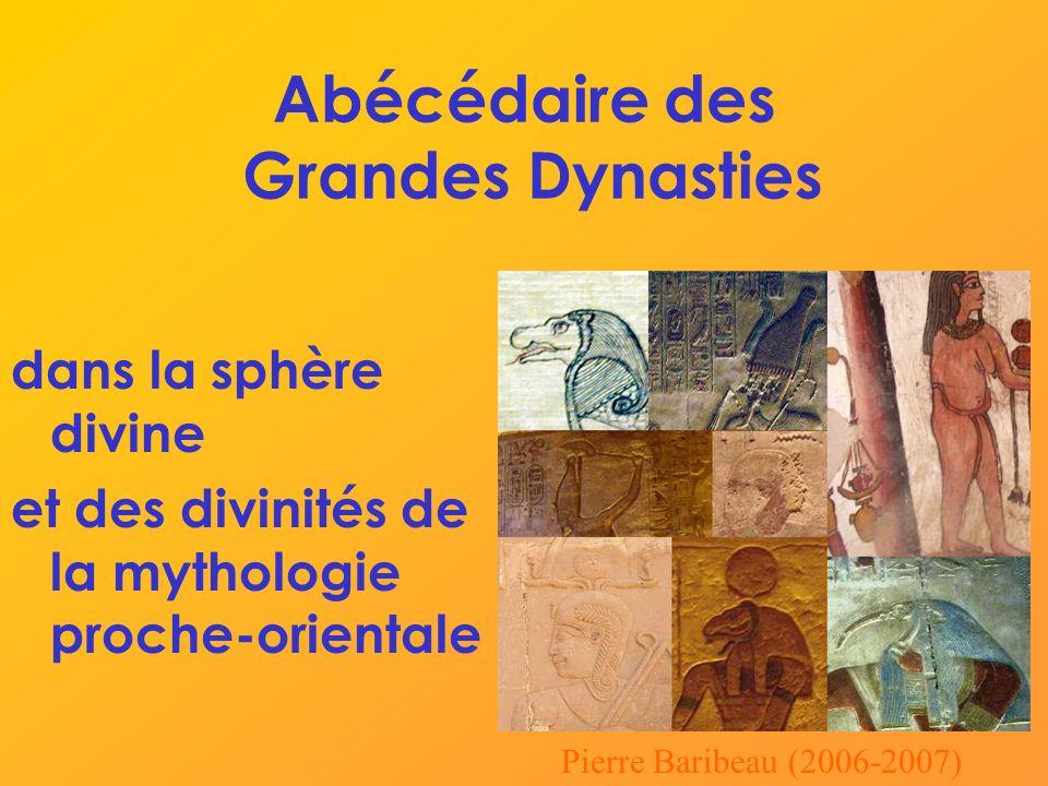 Abécédaire des Grandes Dynasties