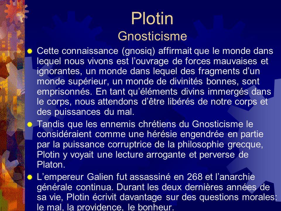 Plotin Gnosticisme
