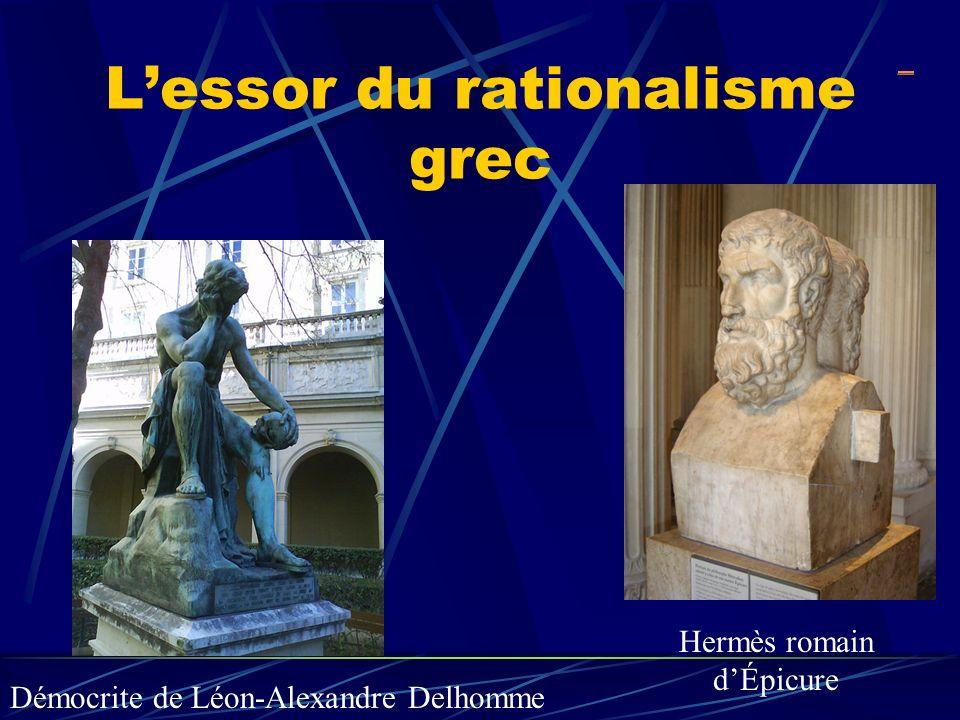 L'essor du rationalisme grec