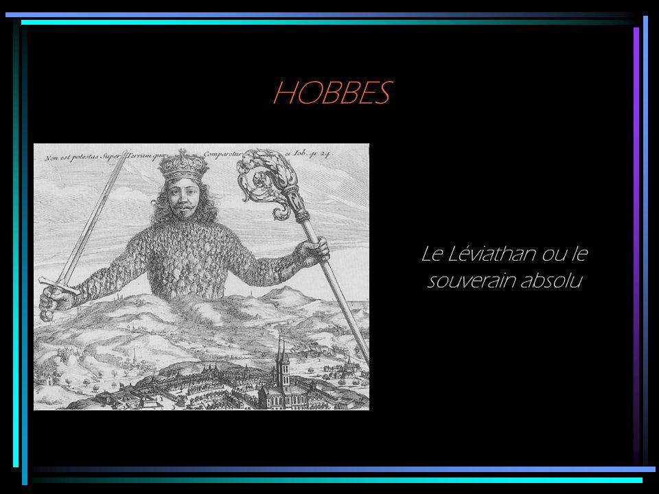 Le Léviathan ou le souverain absolu